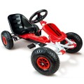 smoby-kart rodas gonflaveis preto vermelho